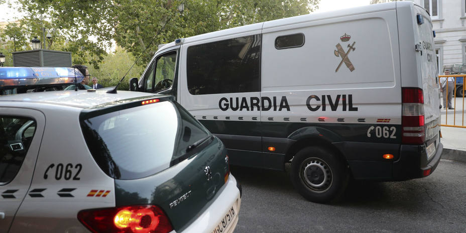 Coche Guardia Civil. Archivo