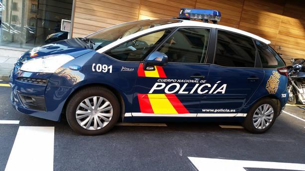 Coche de policía. Archivo