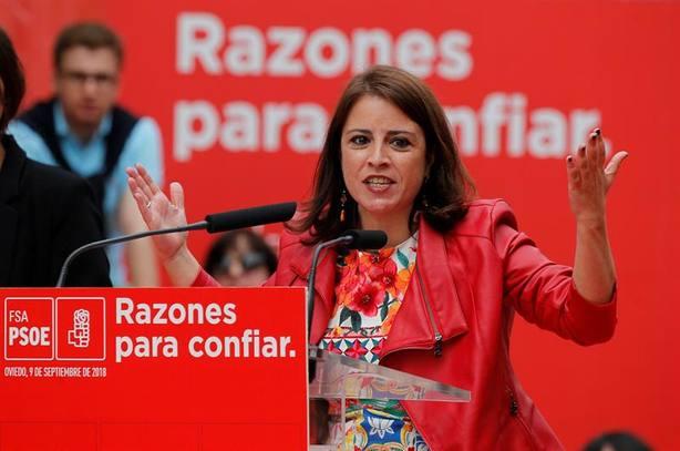 Adriana Lastra: No hay persona más honesta que el presidente del Gobierno