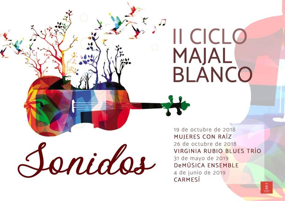 El II ciclo de 'Majal Blanco Sonidos' apuesta por la mujer de la escena musical murciana