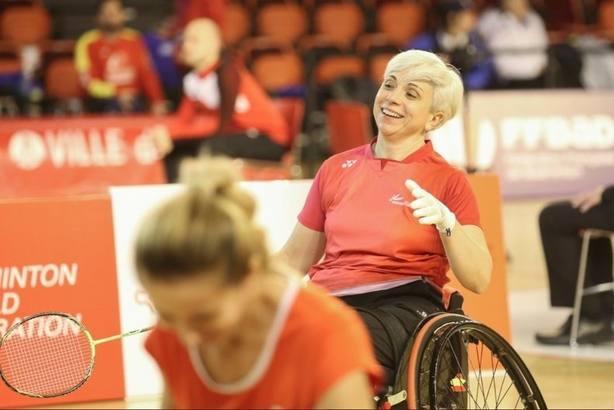 Quinteros gana el bronce en el Europeo de bádminton paralímpico