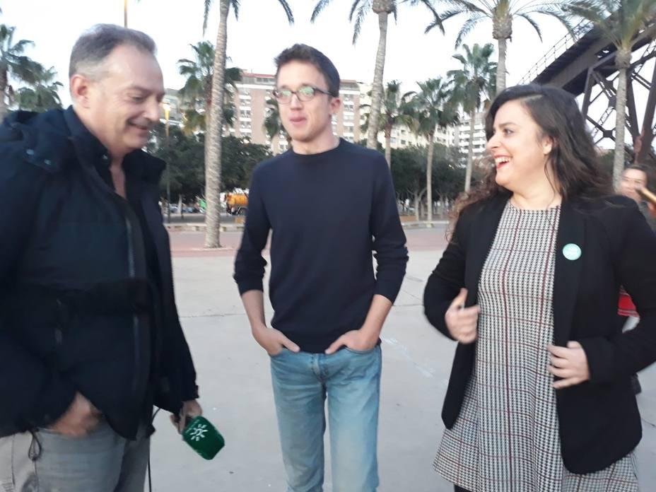 Errejón dice que andaluces ya no tienen que elegir entre inmovilismo y derechas y ve resultado clave para España