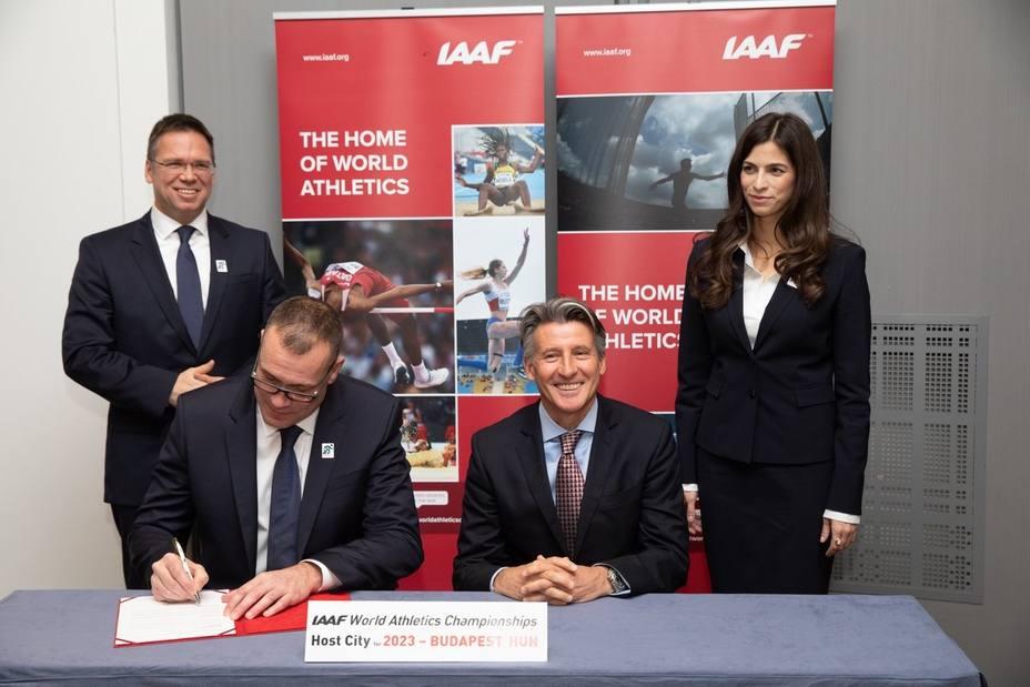 Budapest organizará los Mundiales de atletismo en 2023