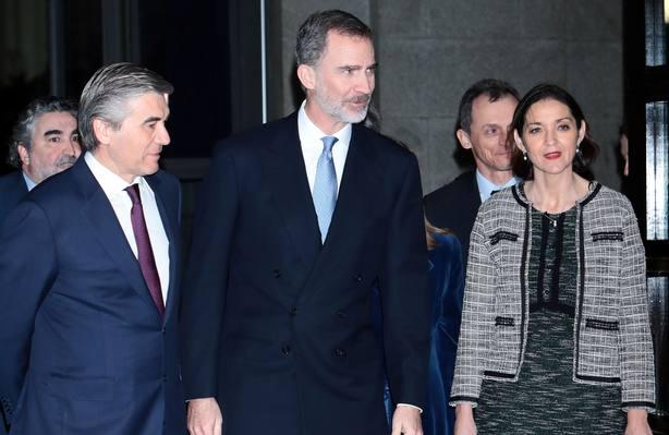 El Rey Felipe se va de concierto sin la Reina Letizia