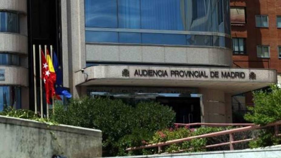 Audiencia Provincial de Madrid/ EFE