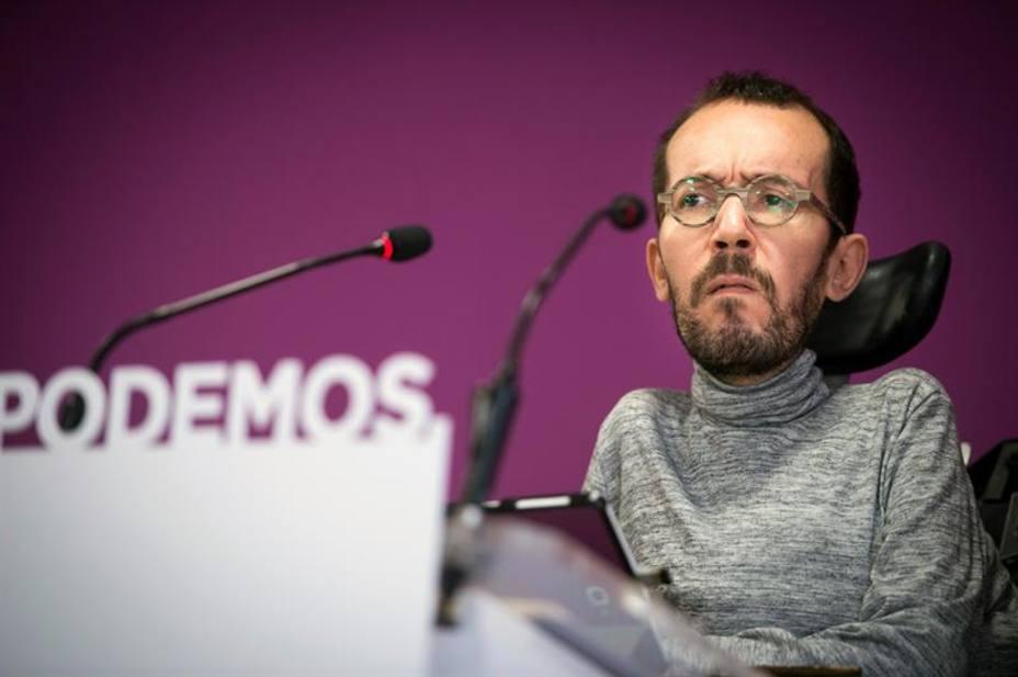 Ratificada la sanción a Echenique por contratar de manera irregular a su asistente personal