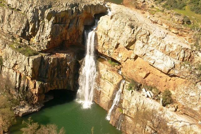 Cascada de la Cimbarra, la canción del agua