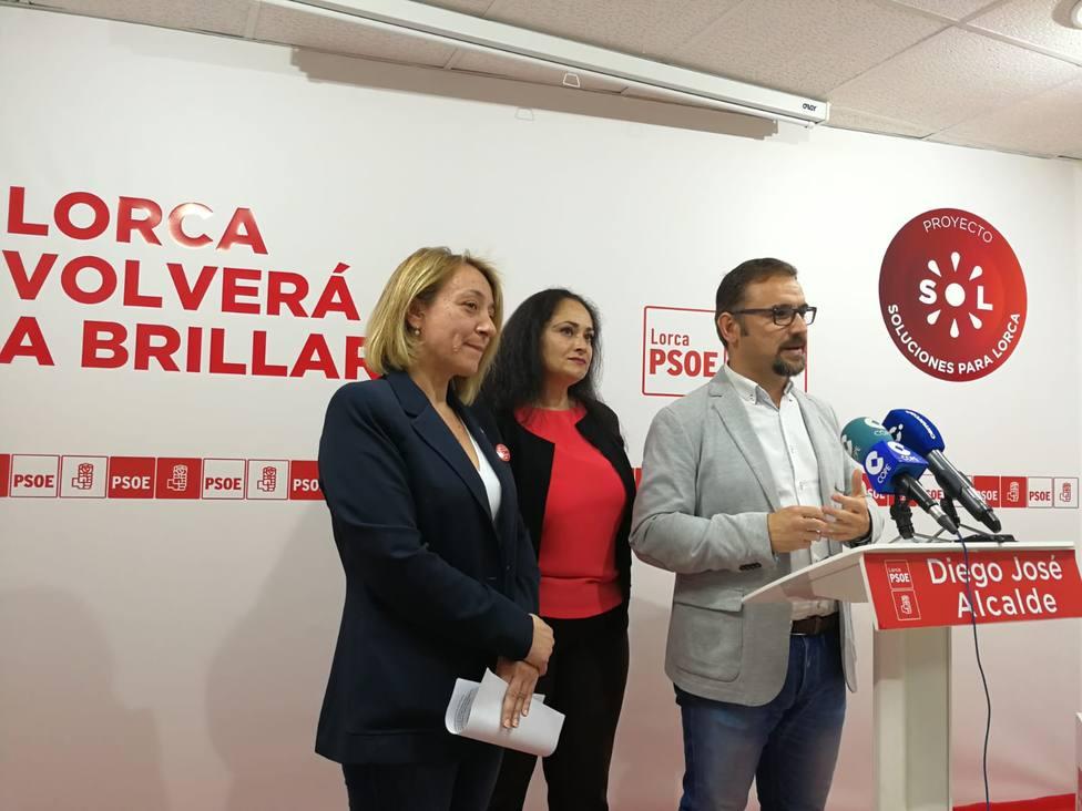 """Diego José Mateos: """"El objetivo del PSOE es conseguir las mejores infraestructuras educativas para Lorca"""