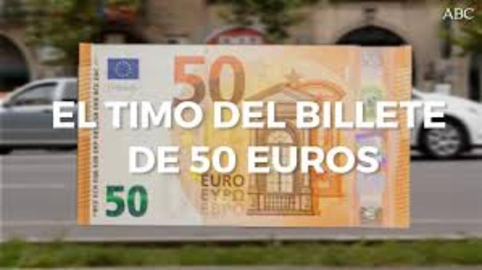 Billetes falsos de 50 euros