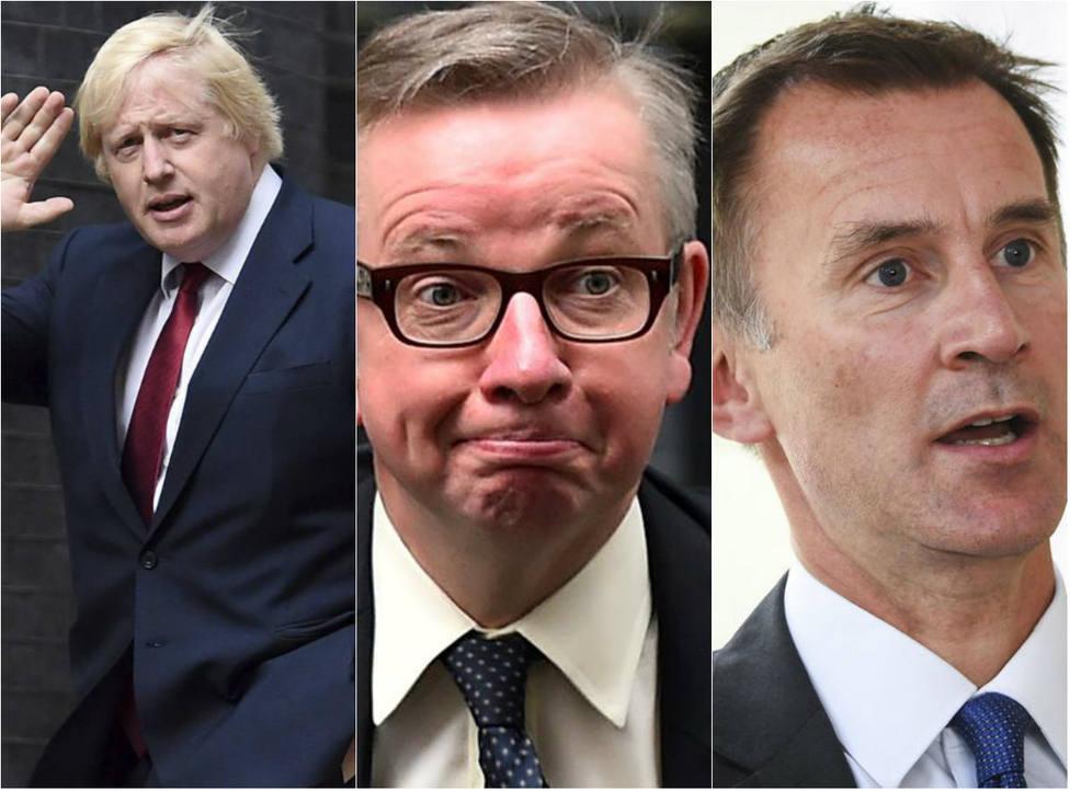 Presentan oficialmente las diez candidaturas a sustituir a Theresa May