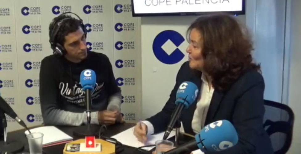 Sonia Lalanda de Vox; La próxima alcaldesa de Palencia será la socialista Miriam Andrés