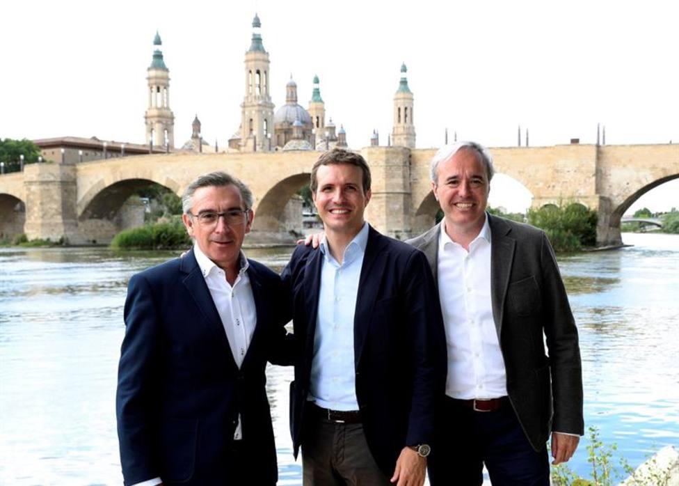 PP y Cs se reparten Aragón: Zaragoza y Teruel para el PP y Huesca para Cs