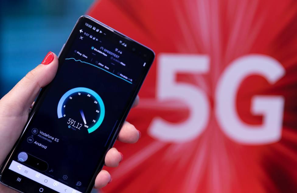 Vodafone enciende mañana la primera red comercial 5G de España en 15 ciudades