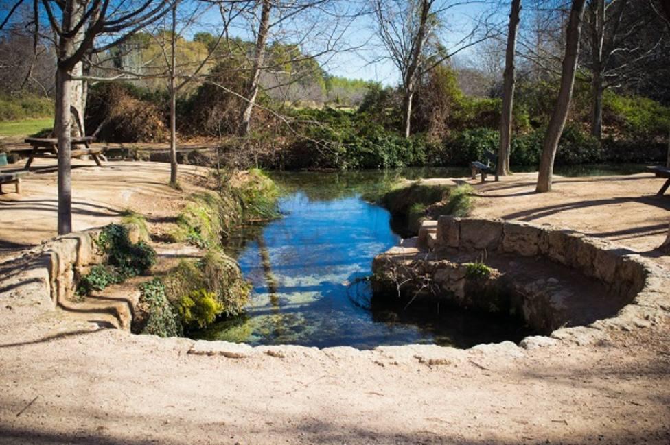 Paraje de las Fuentes del Marqués en Caravaca