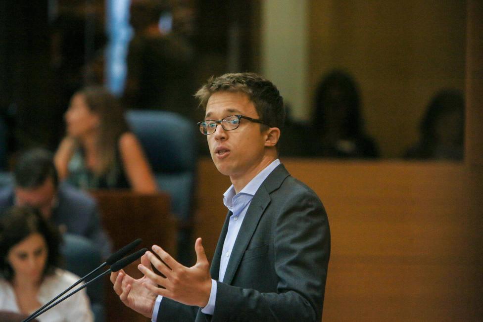 Errejón dice que PP ha pactado con Vox y Cs no contra la izquierda, sino contra su pasado y la Fiscalía Anticorrupción