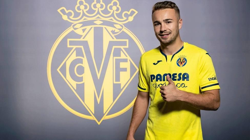 Ontiveros alcanza un acuerdo con el Villarreal para las cinco próximas temporadas