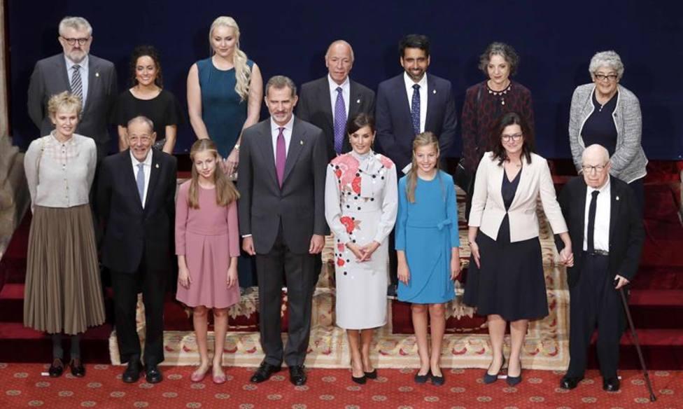 Estos son los galardonados con el Premio Princesa de Asturias