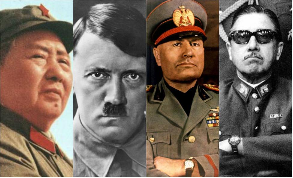¿Dónde están enterrados el resto de dictadores que fallecieron en los últimos 100 años?
