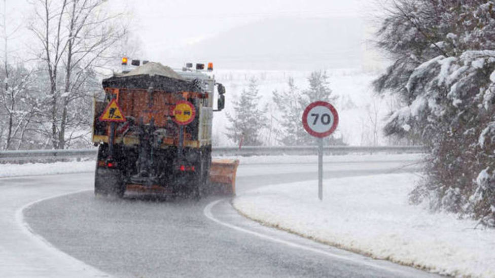 Las incidencias del episodio de nieve en La Rioja