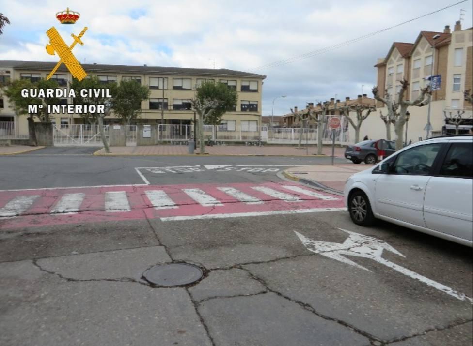 Detenido tras darse a la fuga y circular a alta velocidad en Castejón