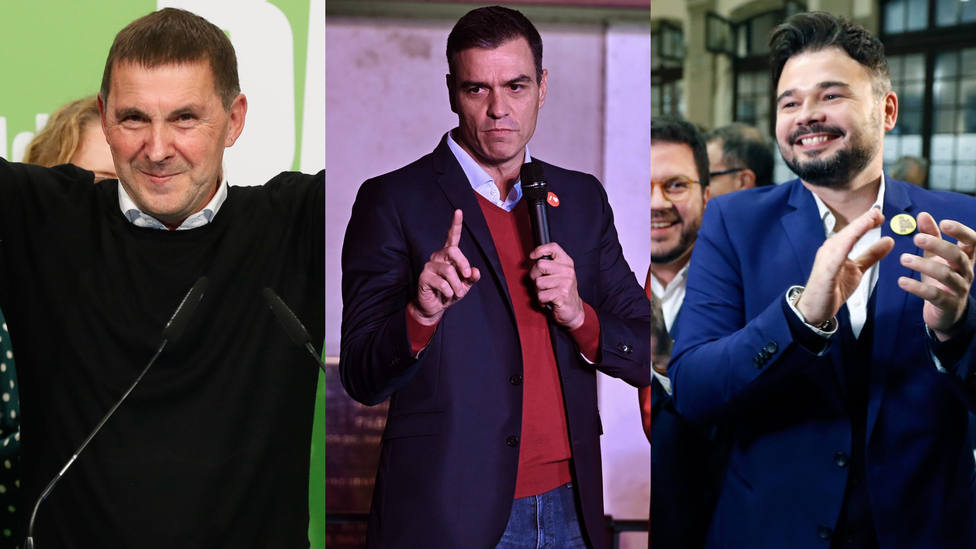 El escaño del PP en Vizcaya convierte a Sánchez en rehén de Bildu y los nacionalistas