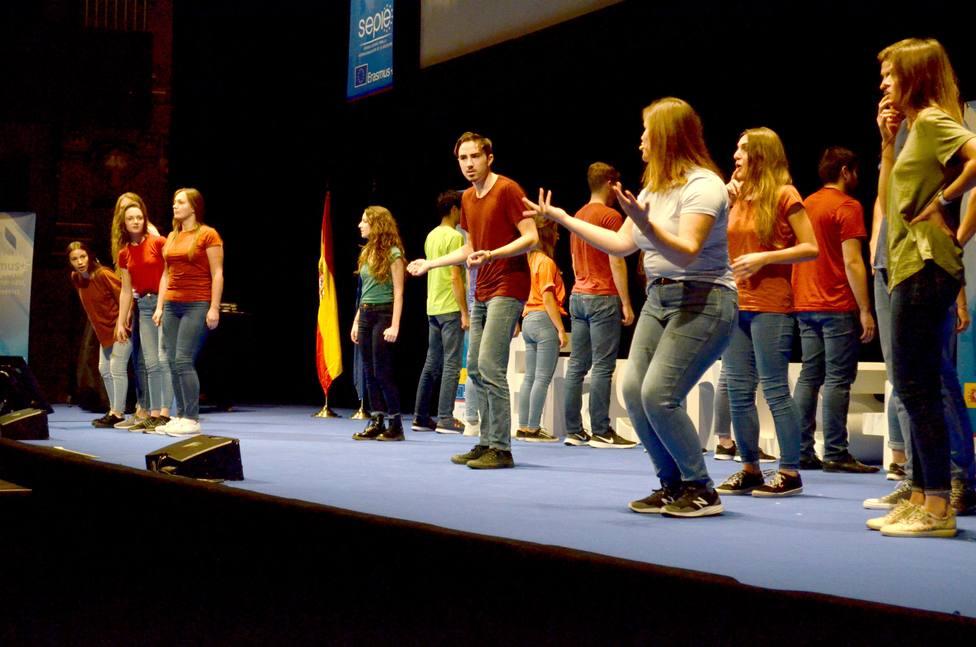 Más de un millar de personas participan en la jornada anual del programa Erasmus organizada por el SEPIE