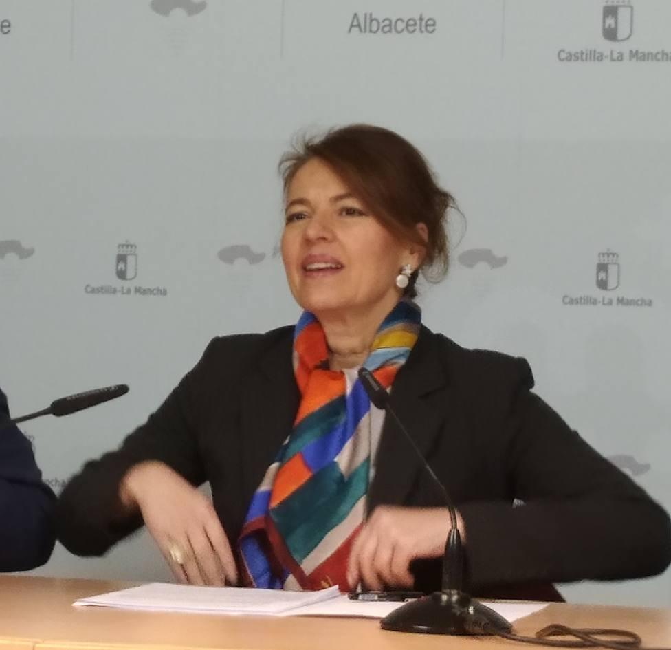 Aurelia Sánchez. Consejera de Bienestar Social C-M