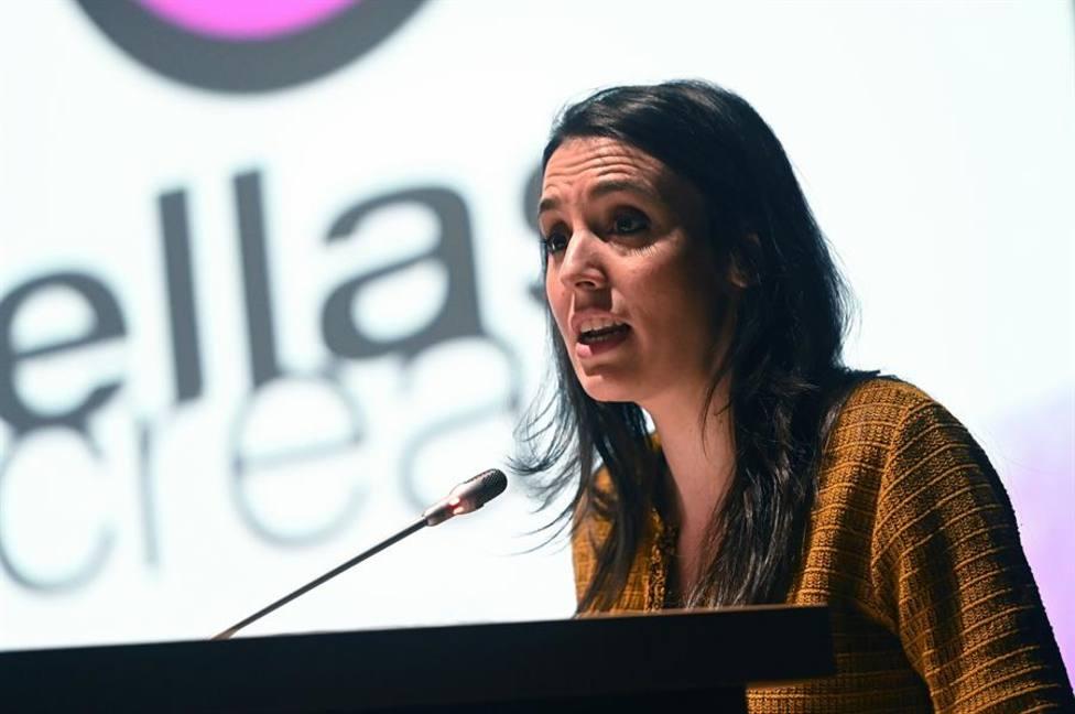 Irene Montero apoya rebajar sueldos a políticos y redistribuir con impuestos