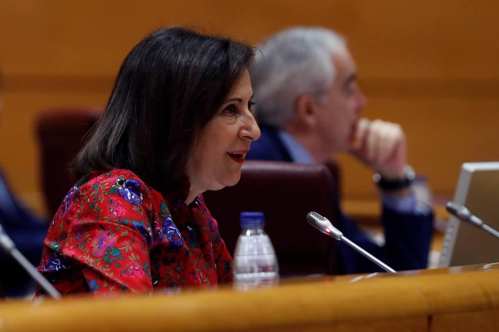 Margarita Robles comparece en el Senado
