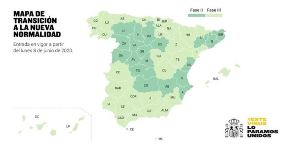 La Región de Murcia pasará a la fase 3 el próximo lunes