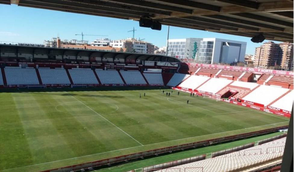 El Sporting visita el Estadio Carlos Belmonte