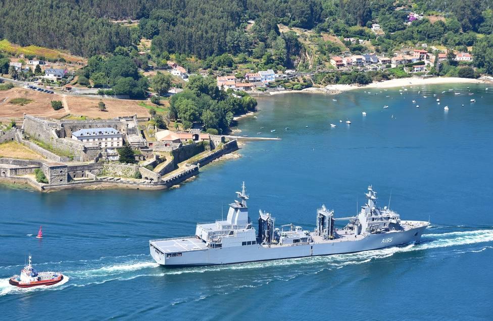 Foto de archivo del buque AOR regresando de las pruebas de mar - FOTO: Jose V. Montero