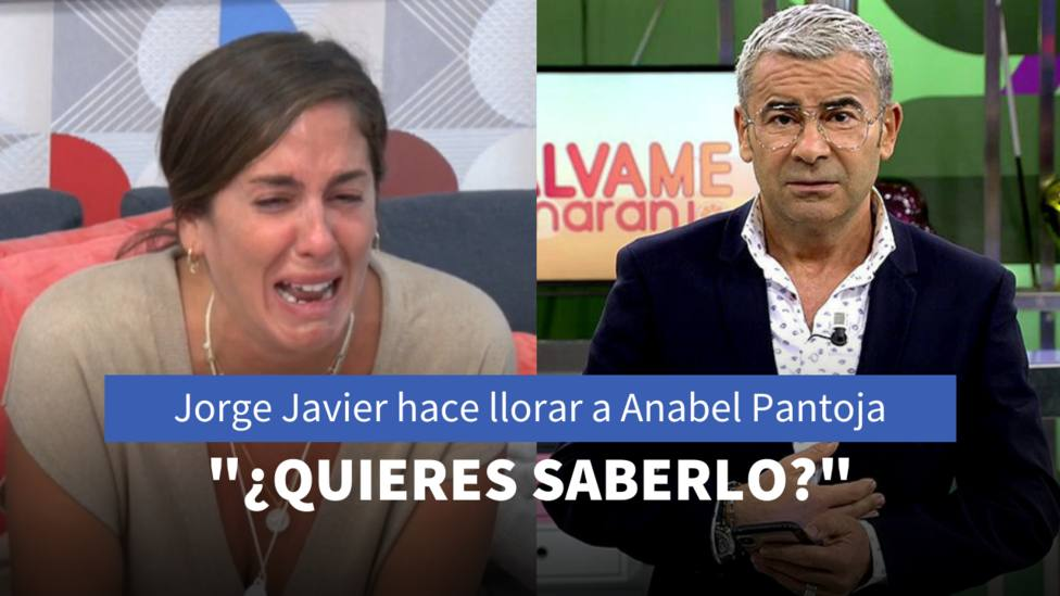 Anabel Pantoja y Jorge Javier Vázquez (Telecinco)