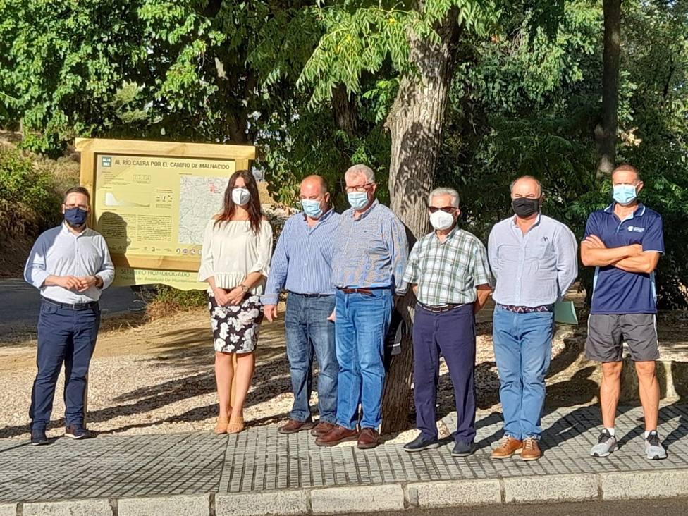 La Junta inaugura una nueva ruta en el espacio natural del río Cabra en Santaella