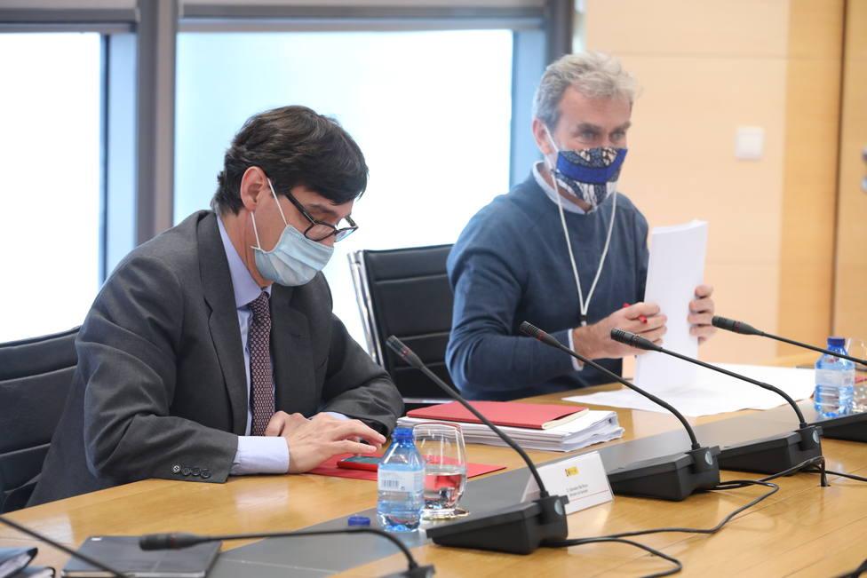 Acaba con avances la reunión de Grupo Covid-19 entre el Gobierno y la Comunidad de Madrid