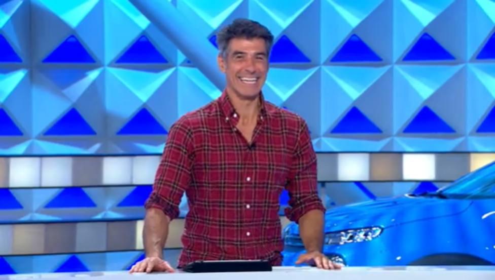 Jorge Fernández en La Ruleta de la Suerte (Antena 3)