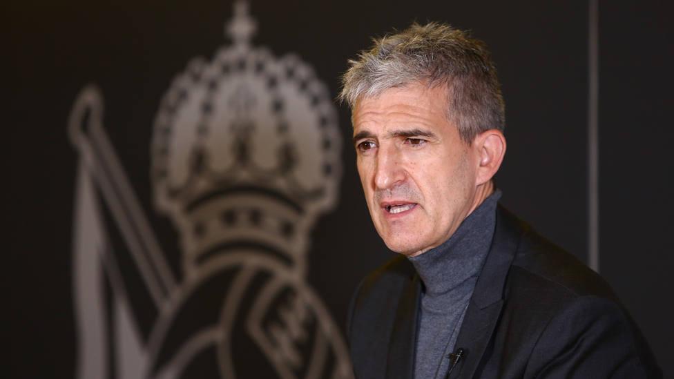 Roberto Olabe, director de fútbol de la Real Sociedad