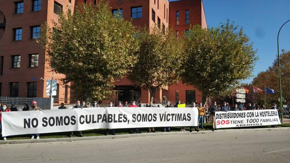 Hostelería Manifestación Burgos