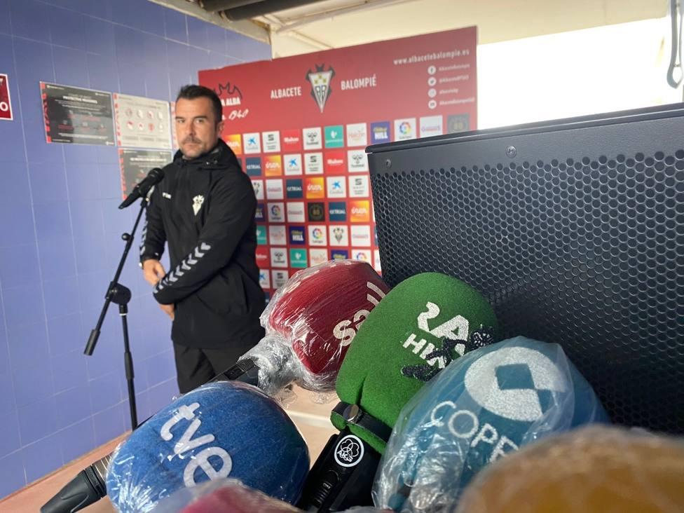 Aritz López Garai en la Ciudad Deportiva del Albacete Balompié