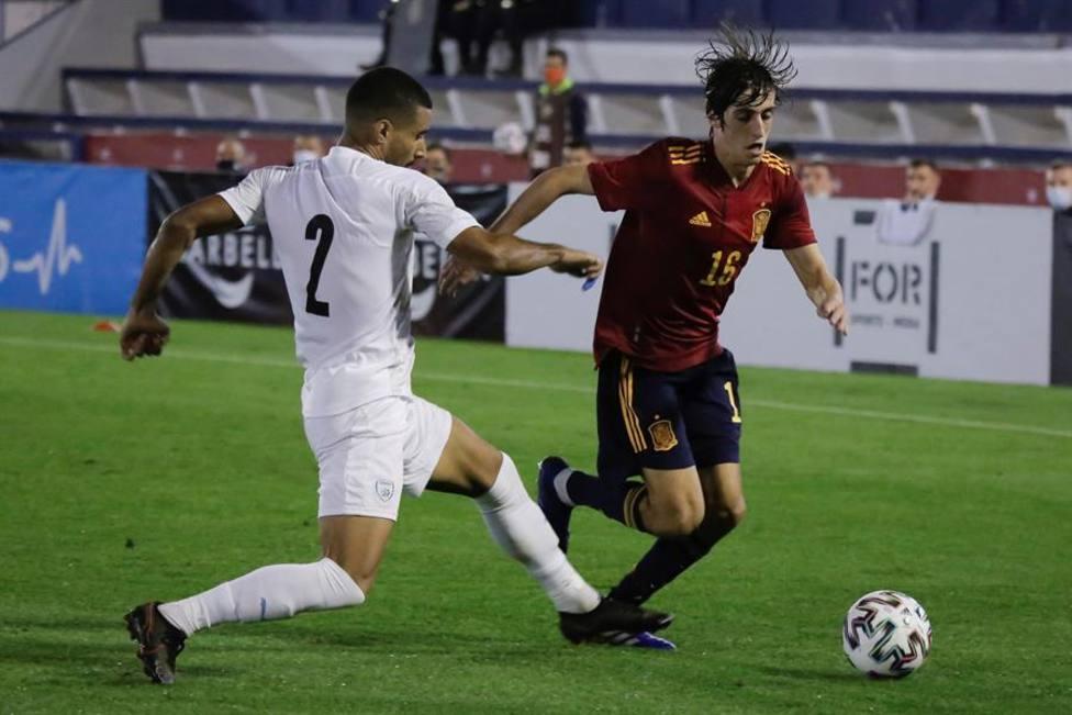 La selección española sub-21 arrolla a Israel y se clasifica invicta a la Eurocopa