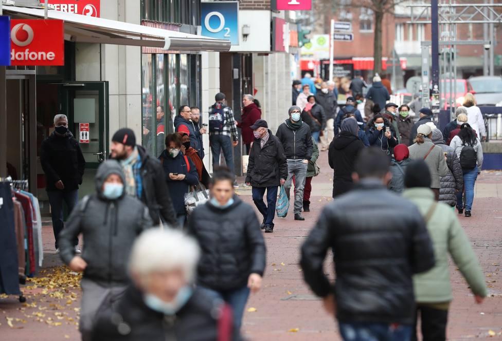 Shopping district of Hamburg-Harburg