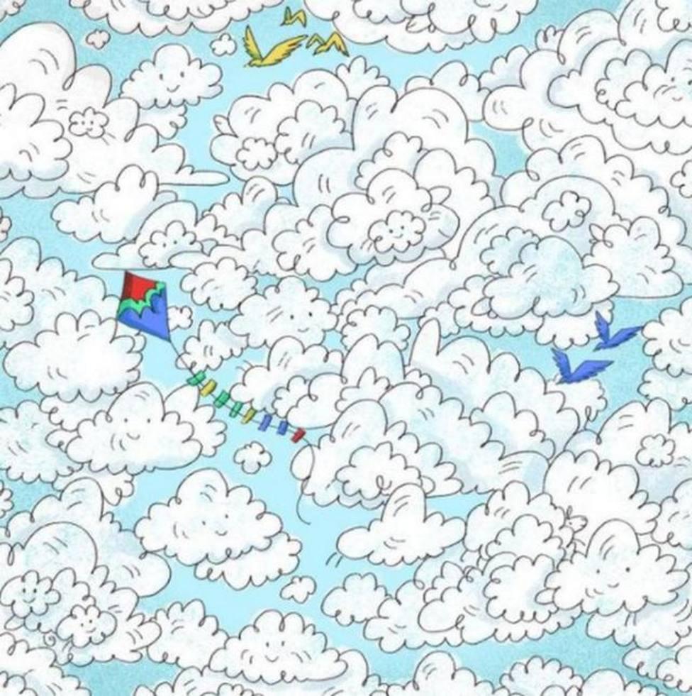 El nuevo reto viral que arrasa en redes: ¿eres capaz de encontrar la oveja escondida entre las nubes?