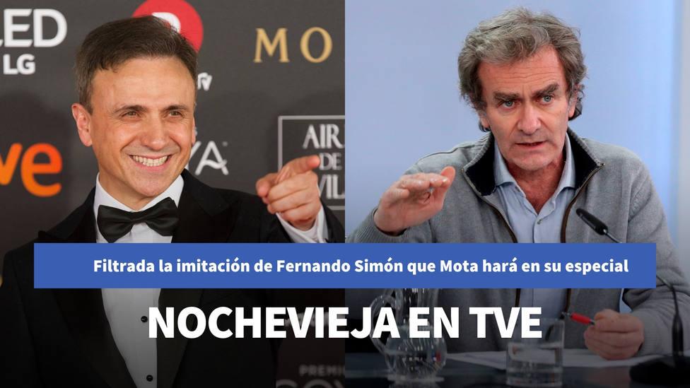 Filtrada la imitación de Fernando Simón que José Mota hará en su especial de Nochevieja