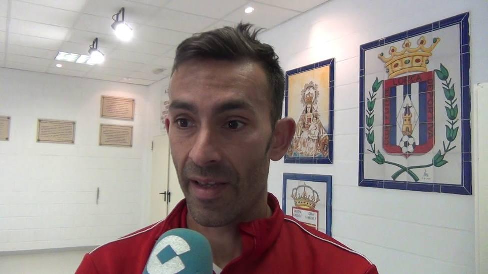 Ángel Robles, sexta salida en el CF Lorca Deportiva