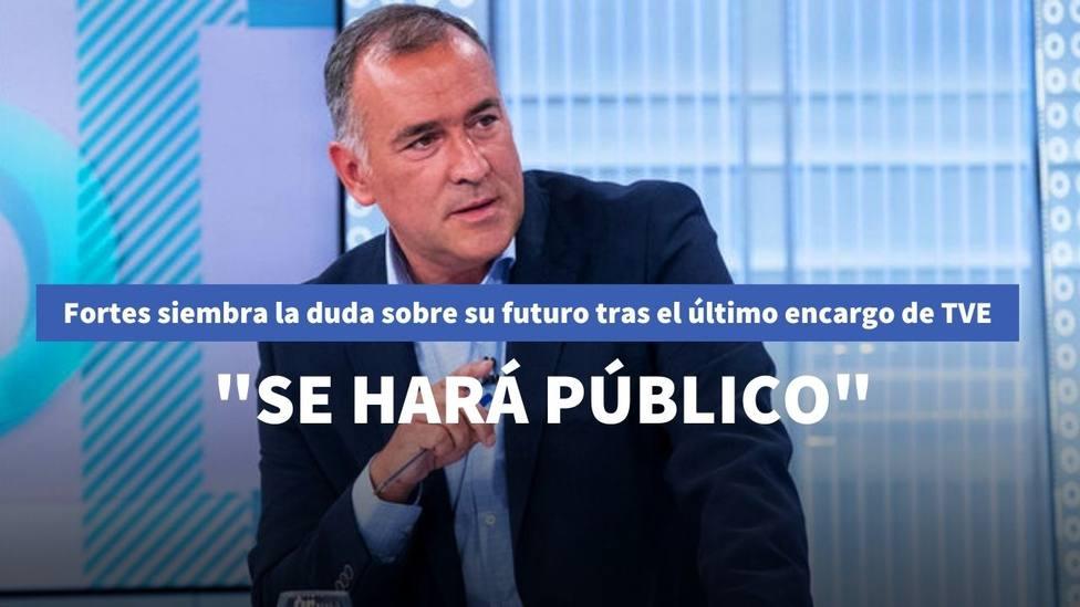 Xabier Fortes siembra de incógnita su futuro tras el último encargo de TVE: Se hará público