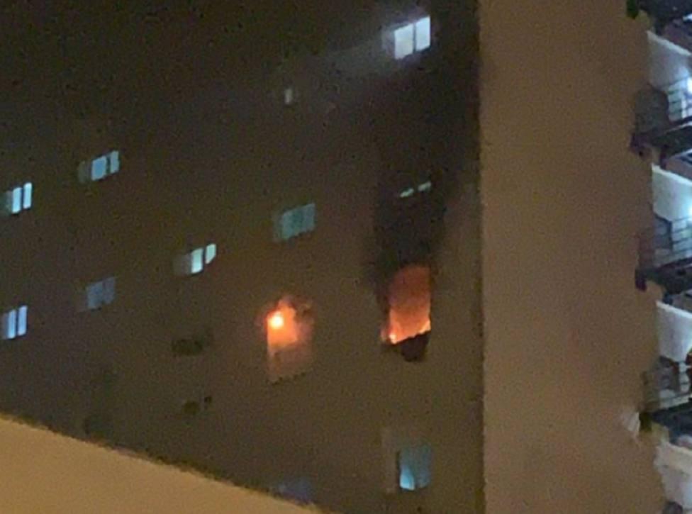 Muere el presunto autor del incendio en el Hospital Puerta del Mar en Cádiz