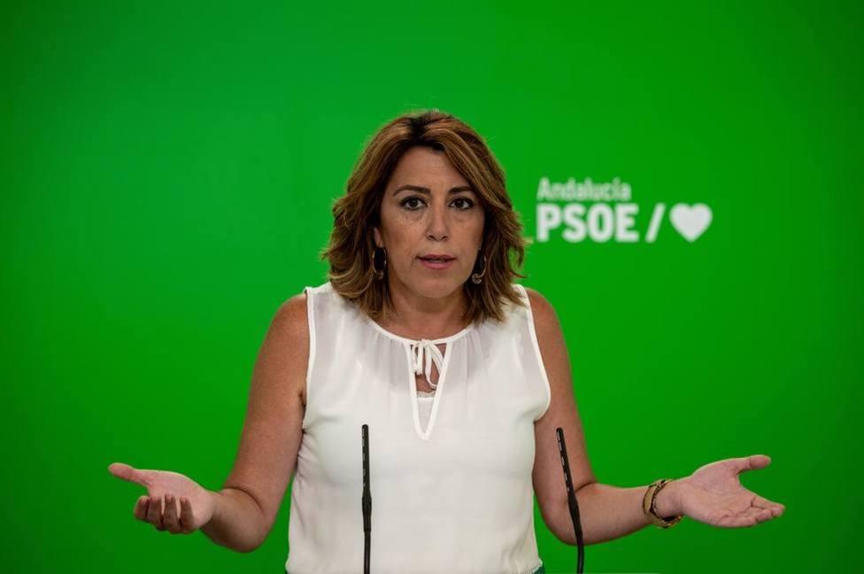 La pegatina de una diputada andaluza que ha indignado a Susana Díaz: Ordenó el fusilamiento