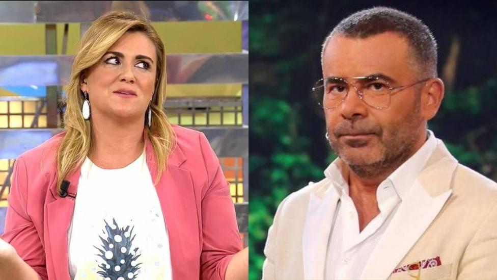 Jorge Javier Vázquez corta en seco a Carlota Corredera tras su último tropiezo: Me pilláis mal