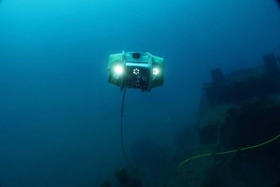 Robot de intervención subacuática Navajo