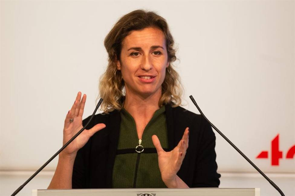 La diputada de la CUP en el Parlament de Catalunya Laia Estrada